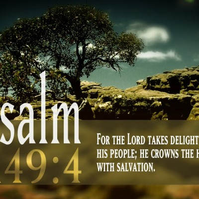 For The Lord Takes Delight His People ~ Family Quote