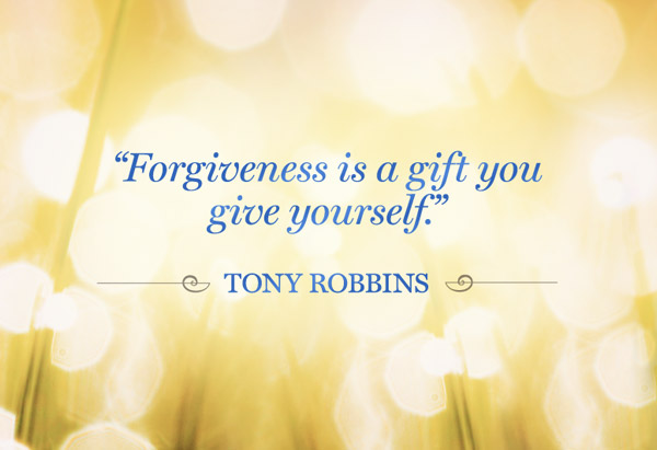 """Forgive Is a Gift You Give Yourself"" ~ Forgiveness Quote"