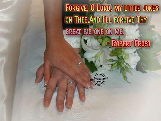 Forgive o Lord My Little Jokes ~ April Fool Quote