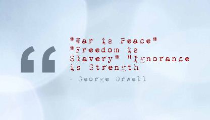 """""""Freedom Is Slavery"""" ~ Freedom Quote"""