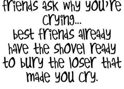 Friends Ask Why You Re Crying Attitude Quote Quotespictures Com