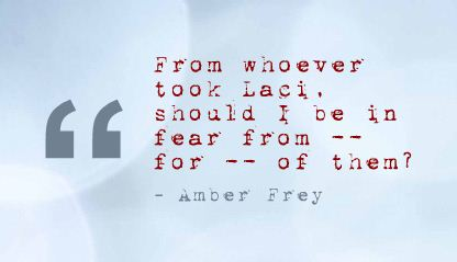 From Whoever Took Lact,Should I be in Fear ~ Fear Quote