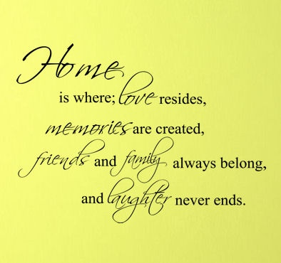 quotes about home and love -#main