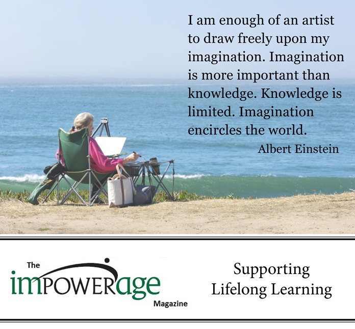 I am enough of an Artist to draw freely upon my Imagination ~ Education Quote