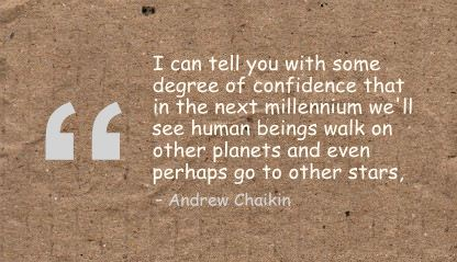 I Can tell you with some degree of confidence that in the next millennium ~ Confidence Quote