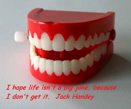 I Hope Life Isn't a Big Joke,because I Don't Get It ~ Fools Quote