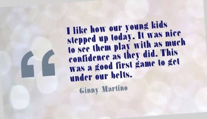 I Like How Our Young Kids Slepped Up Today Confidence Quote