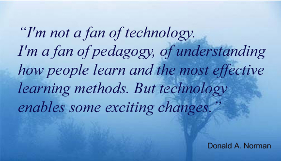 I'm not a fan of technology but the Education Only ~ Education Quote