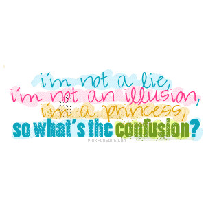 I'm not a lie,I'm Not an Illision ~ Confidence Quote