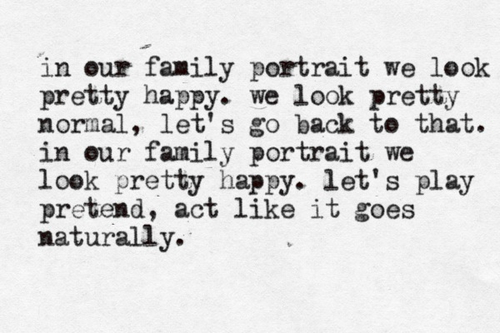 I'm our Family ~ Family Quote