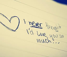 I Never Thought I\'d Love You So Much ~ Being In Love Quote ...