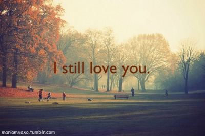 I Still Love You ~ Being In Love Quote
