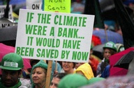 If The Climate Were a Bank,It Would Have Been Saved By Now ~ Environment Quote