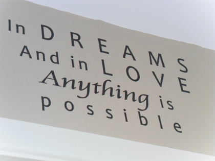 In Dreams And In Love Anything Is Possible ~ Dreaming Quote