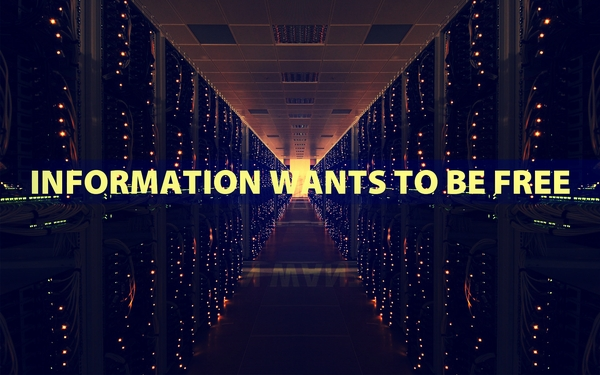 Information Wants To Be Free ~ Freedom Quote