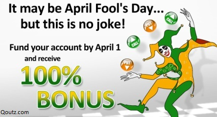It May be April fool's Day but this is no joke! ~ April Fool Quote