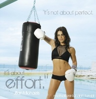 It's not about Perfect ~ Exercise Quote