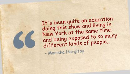 It's been quite an Education doing this show ~ Education Quote