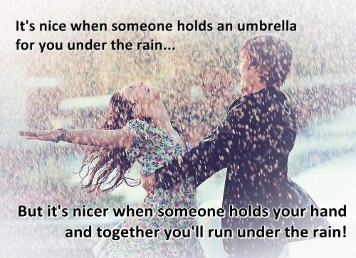 rain love quotes - photo #2