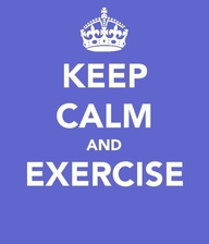 Keep Calm And Exercise ~ Exercise Quote