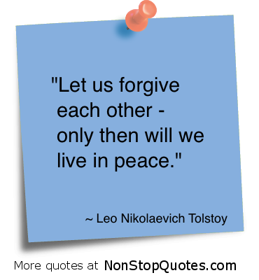 Quotes About Forgiveness and Peace