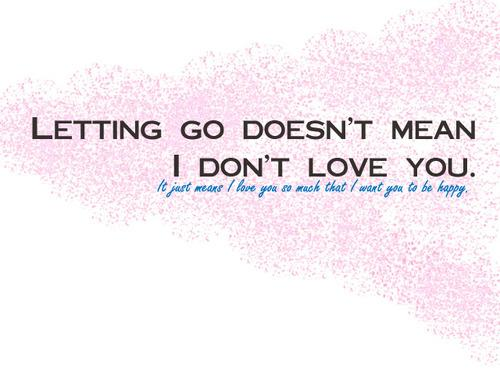 Letting Go Quotes. QuotesGram