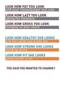 Look How Healthy She Looks ~ Exercise Quote