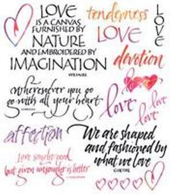 Love Nature Imagination ~ Being In Love Quote