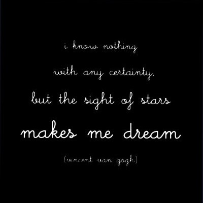 Makes Me Dreams ~ Dreaming Quote