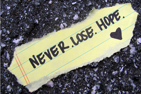 Never Lose hope ~ Confidence Quote