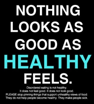 Nothing Looks as Good As Healthy Feels ~ Exercise Quote
