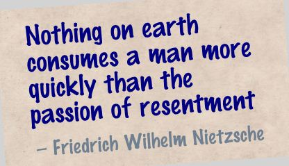Nothing on Earth consumes a man more quickly than the passion of resentment ~ Earth Quote