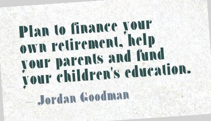 Your Parents and fund Your Children's Education ~ Education Quote