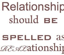 Relationship Should Be Spelled as REAlationship