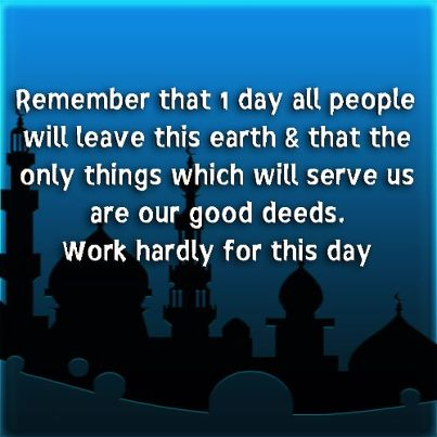 Remember that one day all people will leave this Earth ~ Earth Quote