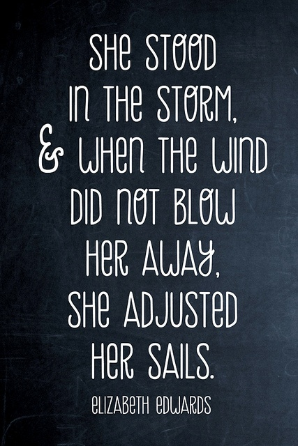 She Stood In The Storm ~ Astrology Quote