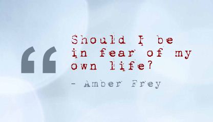 Should I be In Fear of My Own Life ! ~ Fear Quote