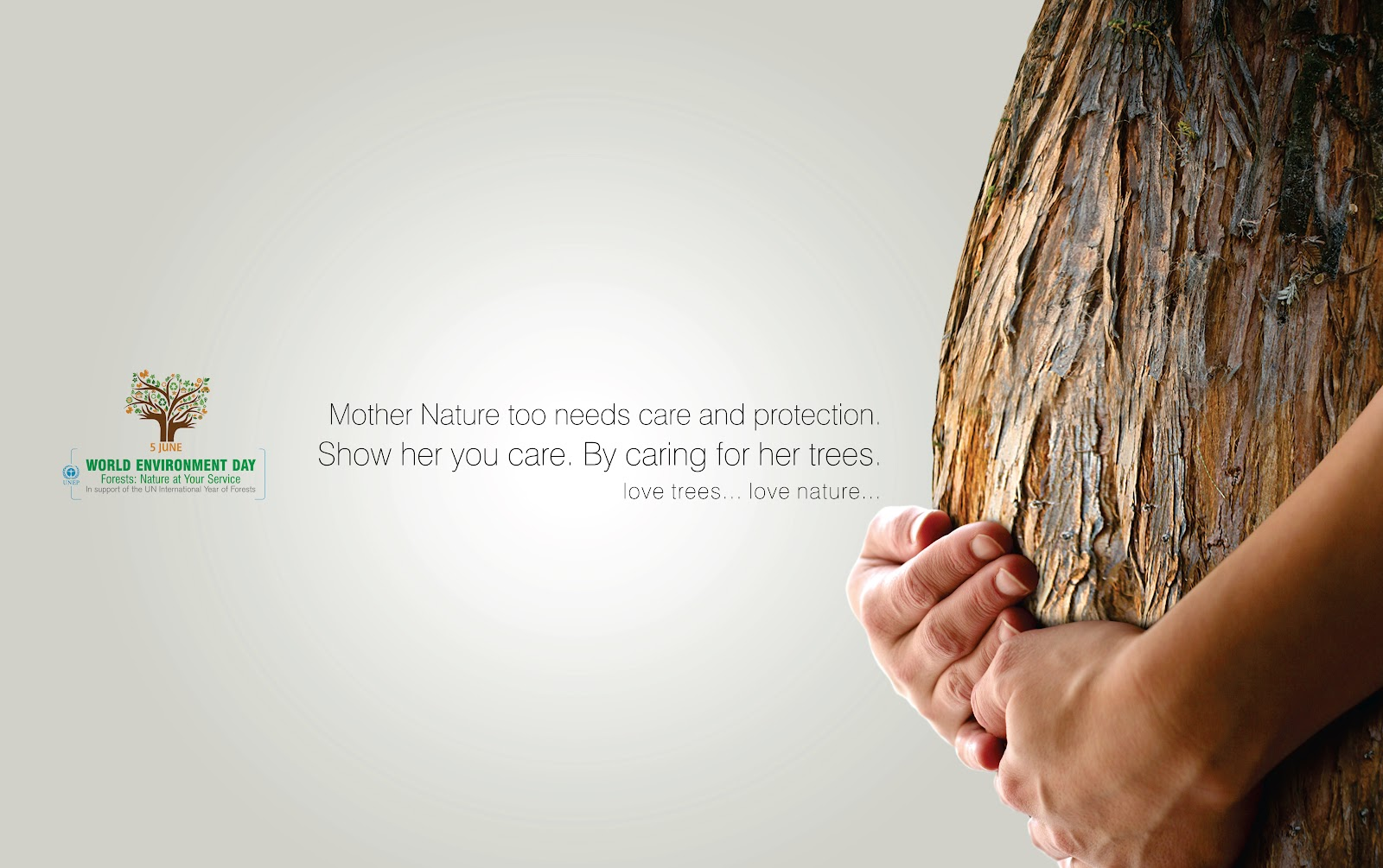 Show her you care ~ Environment Quote