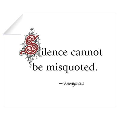 Silence cannot be Misquoted ~ Astrology Quote