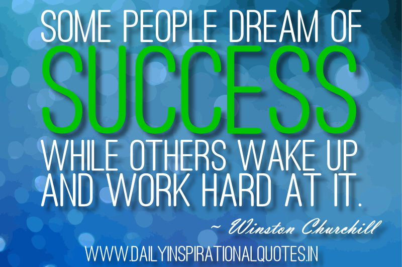 Motivational Business Quotes For Succeed By Winston Churchill Some