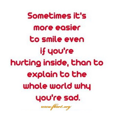 quotes about hurting inside - photo #14