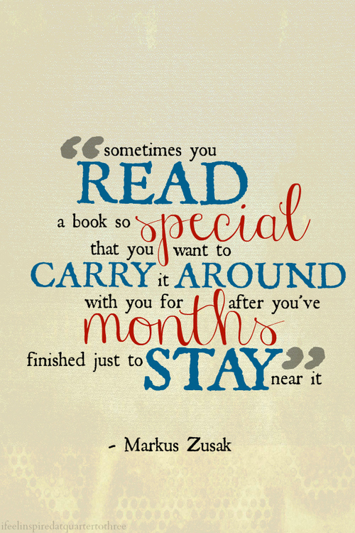 Quote Book Best Sometimes You Read A Book So Special Books Quote Quotespictures