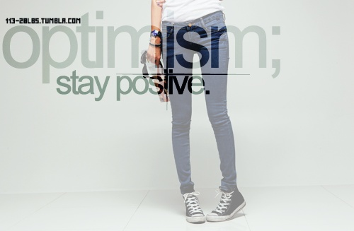 Stay Positive ~ Exercise Quote
