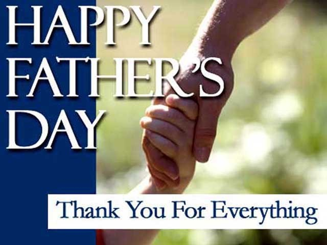 Thank you For Everything ~ Father Quote