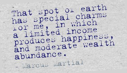 That Spot on Erath has special charms for me ~ Earth Quote