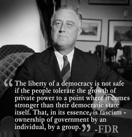 The Liberty of a Democracy Is Not Safe  ~ Democracy Quote