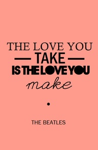 Beatles Quotes Love Unique The Beatles Love Quote  The Best Collection Of Quotes