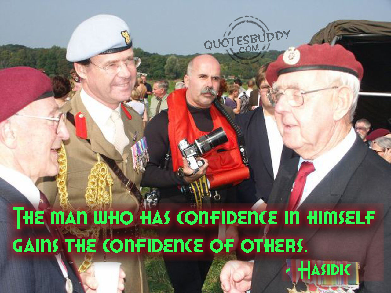The Man Who Has Confidence In Himself Gains The Confidence Of Others ~ Confidence Quote