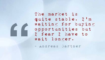 The Market Is Quite Stable ~ Fear Quote