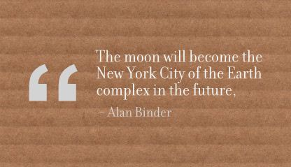 The Moon Will become the New York City of the Earth Complex In the Future ~ Earth Quote